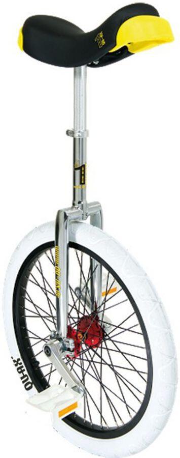 QU-AX Profi ISIS Ethjulet cykel, white (2019) | City