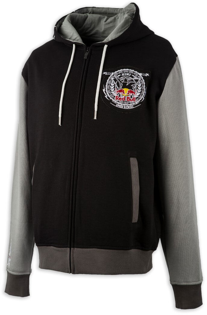 Kini Red Bull Crest Hoodie Herrer, black/grey | Jerseys