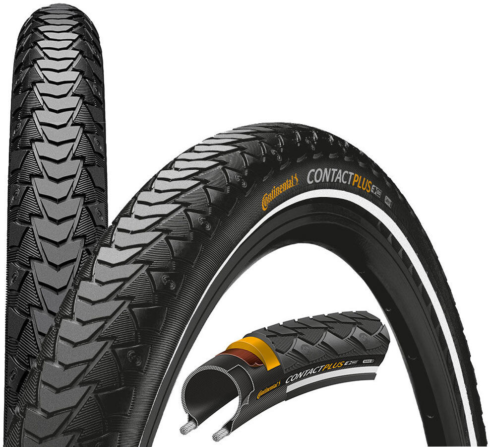 "Continental Contact Plus Dæk SafetyPlus Breaker 24"" kanttråd Reflex (2019) 