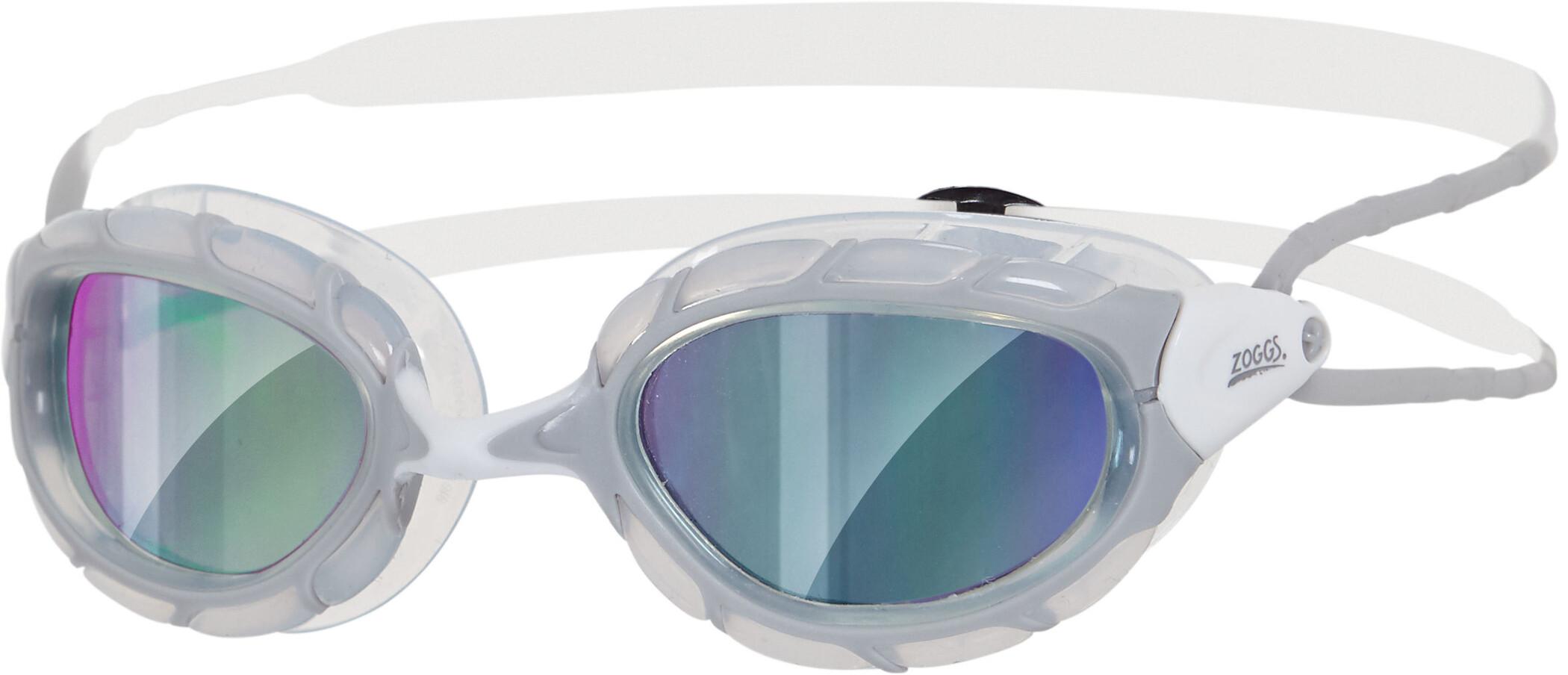 Zoggs Predator Svømmebriller, grey/white/mirror (2019) | swim_clothes