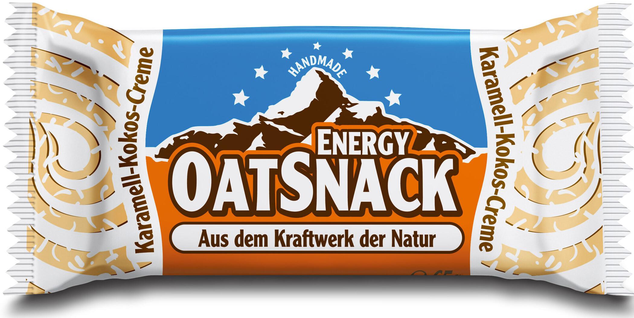 Energy OatSnack Styr 65g, Caramel-Coconut-Mousse | Handlebars