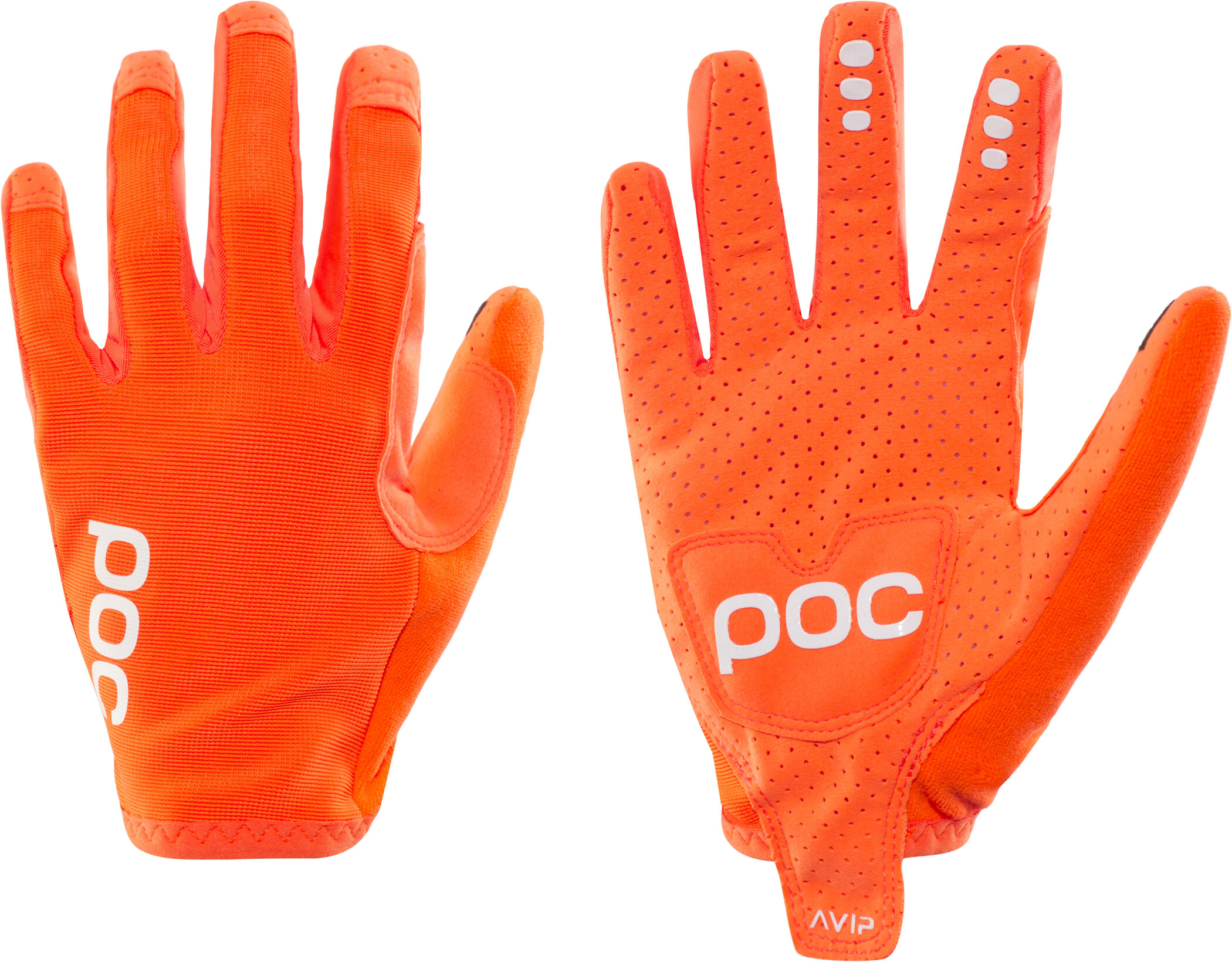 POC AVIP Cykelhandsker, zink orange (2020) | Gloves