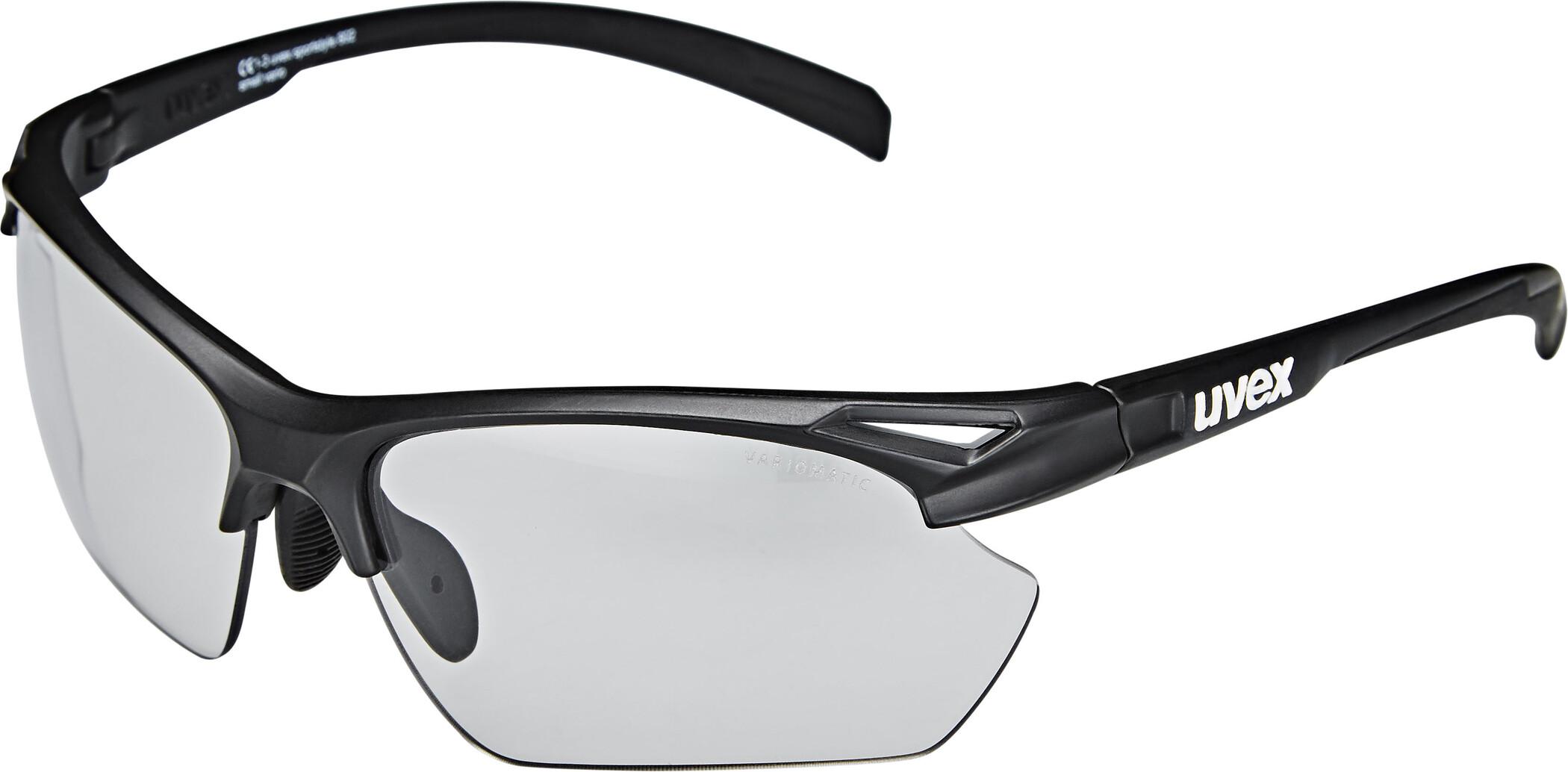 UVEX Sportstyle 802 V Sportsbriller Small Damer, black mat/smoke (2020) | Glasses