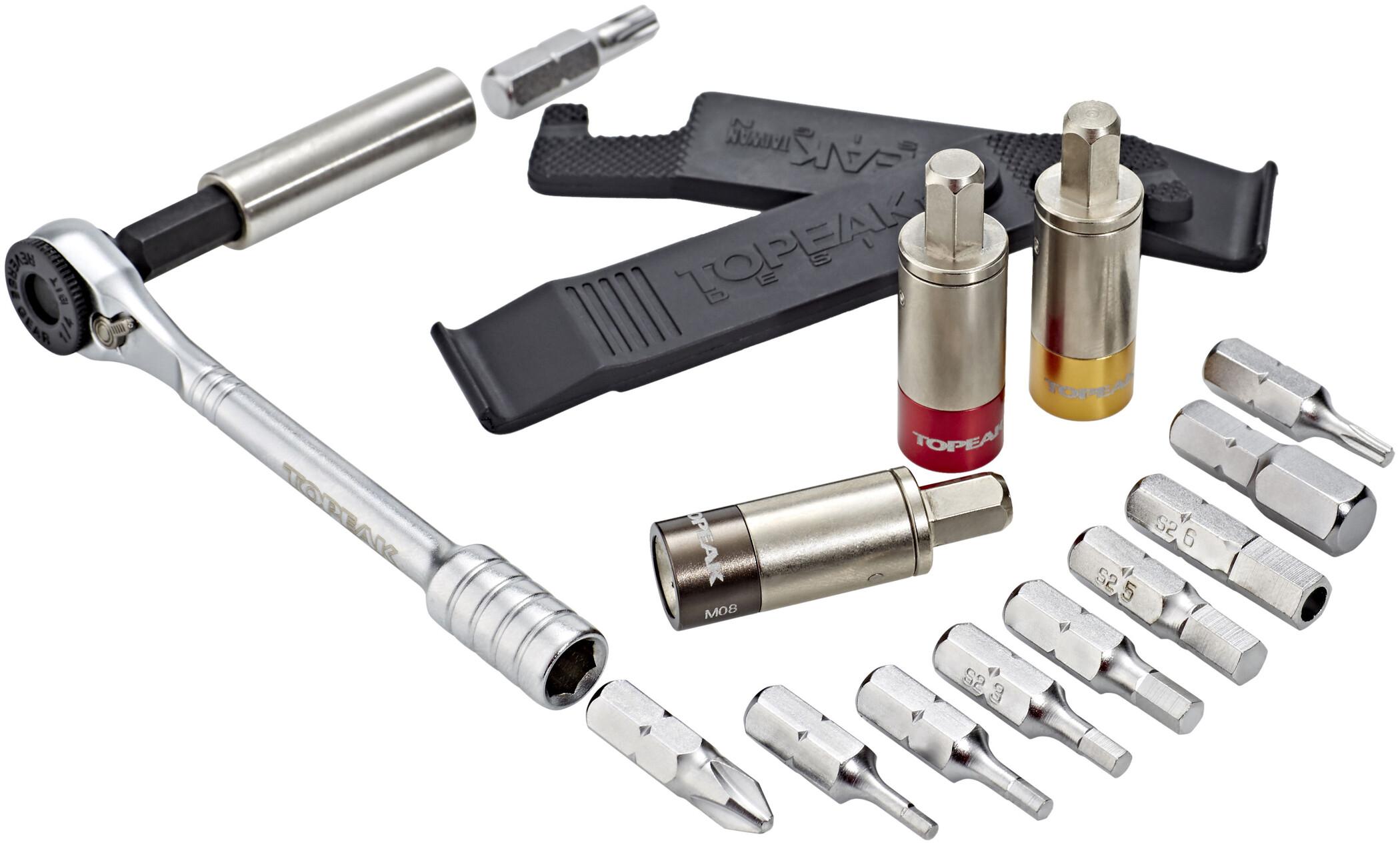 Topeak Ratchet Rocket Lite NTX Cykelværktøj sort/sølv (2019) | tools_component