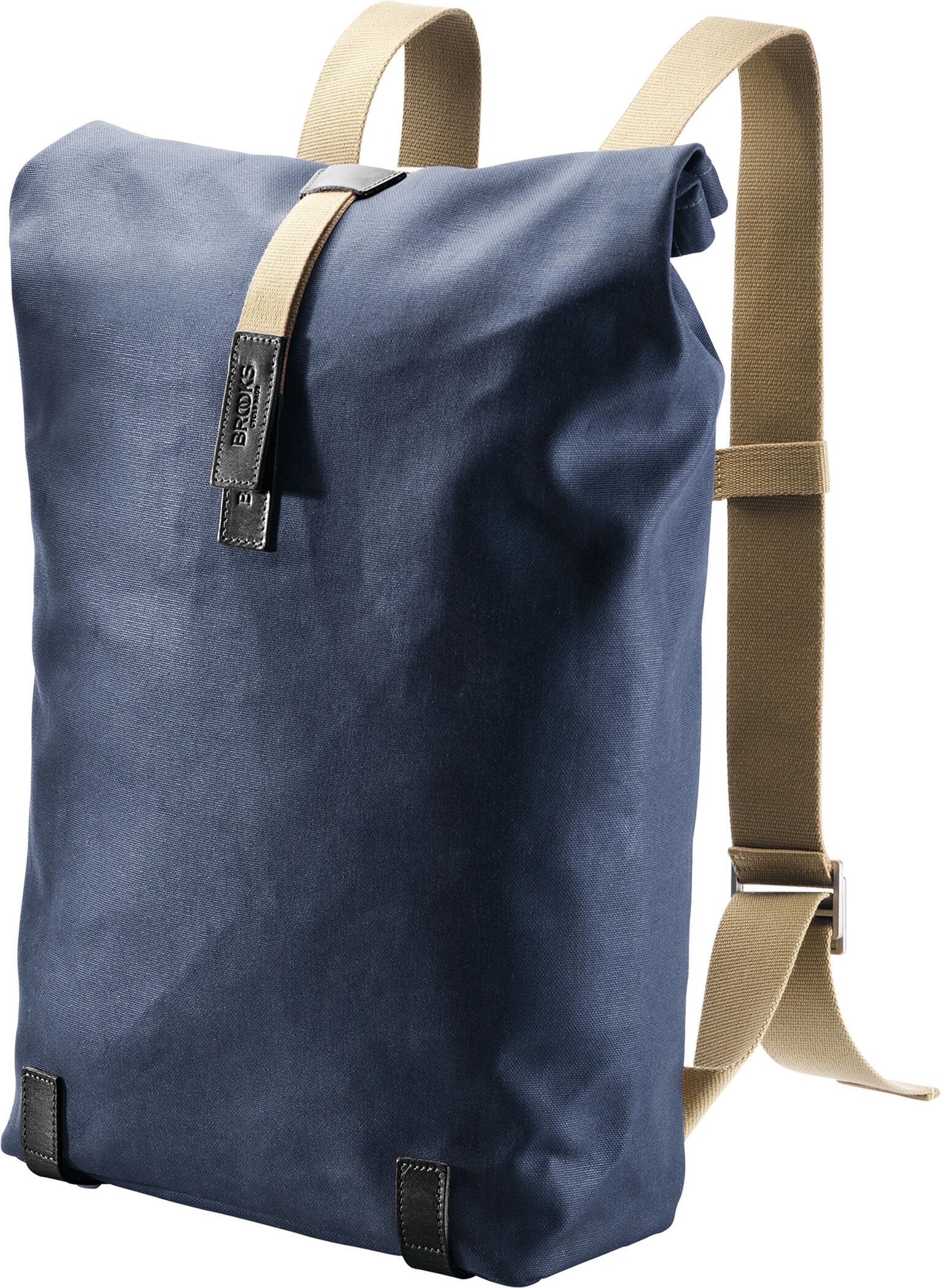 Brooks Pickwick Canvas Rygsæk 26L, dark blue/black (2019) | Travel bags