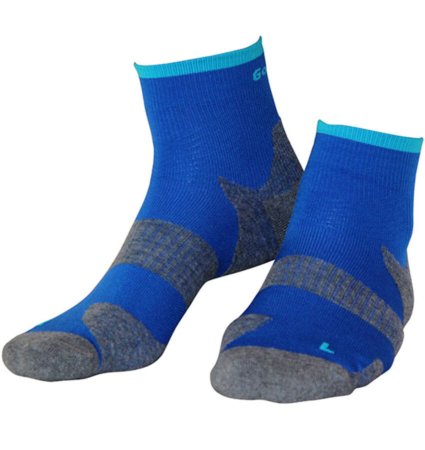 Gococo Technical Cushion Strømper, electric blue (2019) | Socks