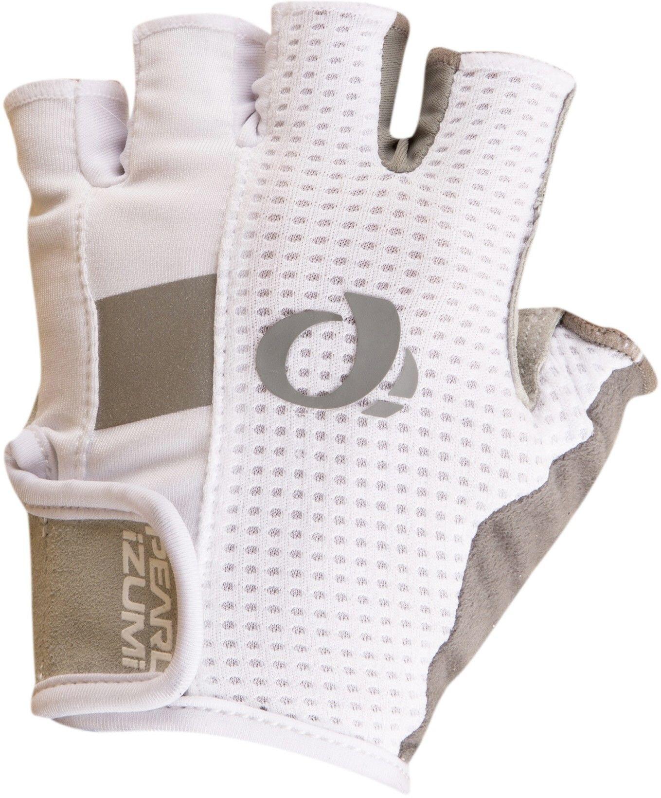 PEARL iZUMi Elite Gel Cykelhandsker Damer, white (2019) | Gloves