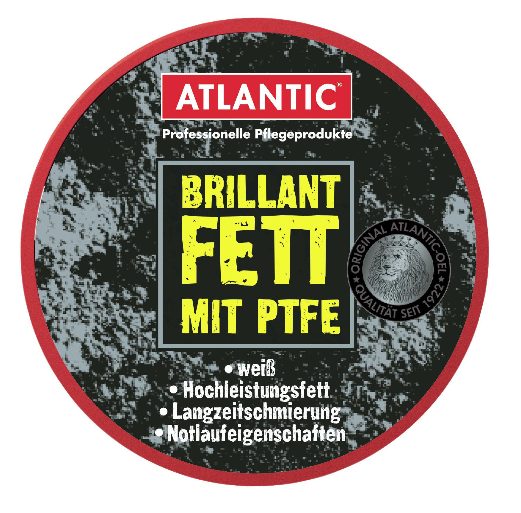 Atlantic Brilliant fedt med PTFE hvid (2019) | Fedt