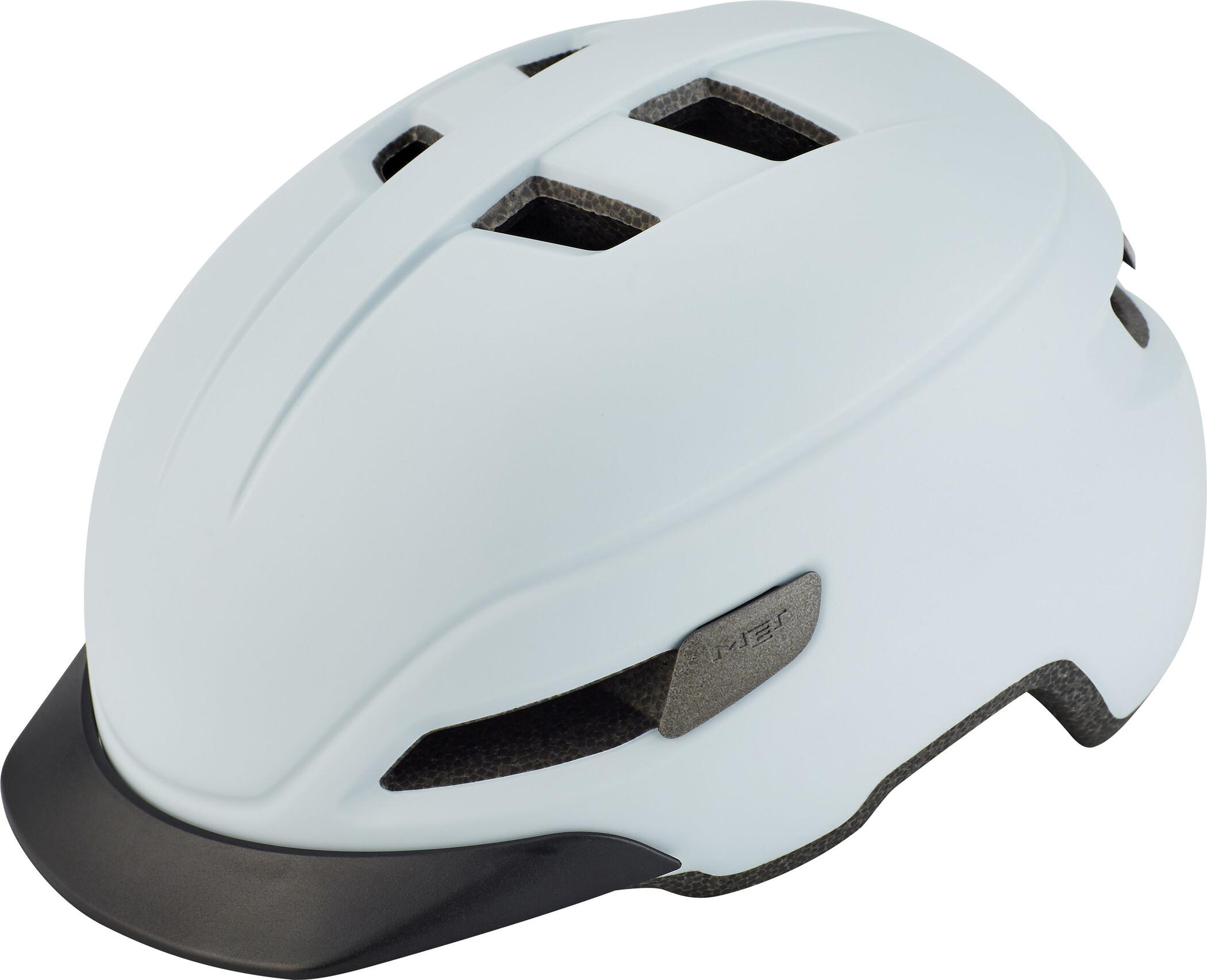 MET Corso Cykelhjelm, matt white (2019) | Helmets