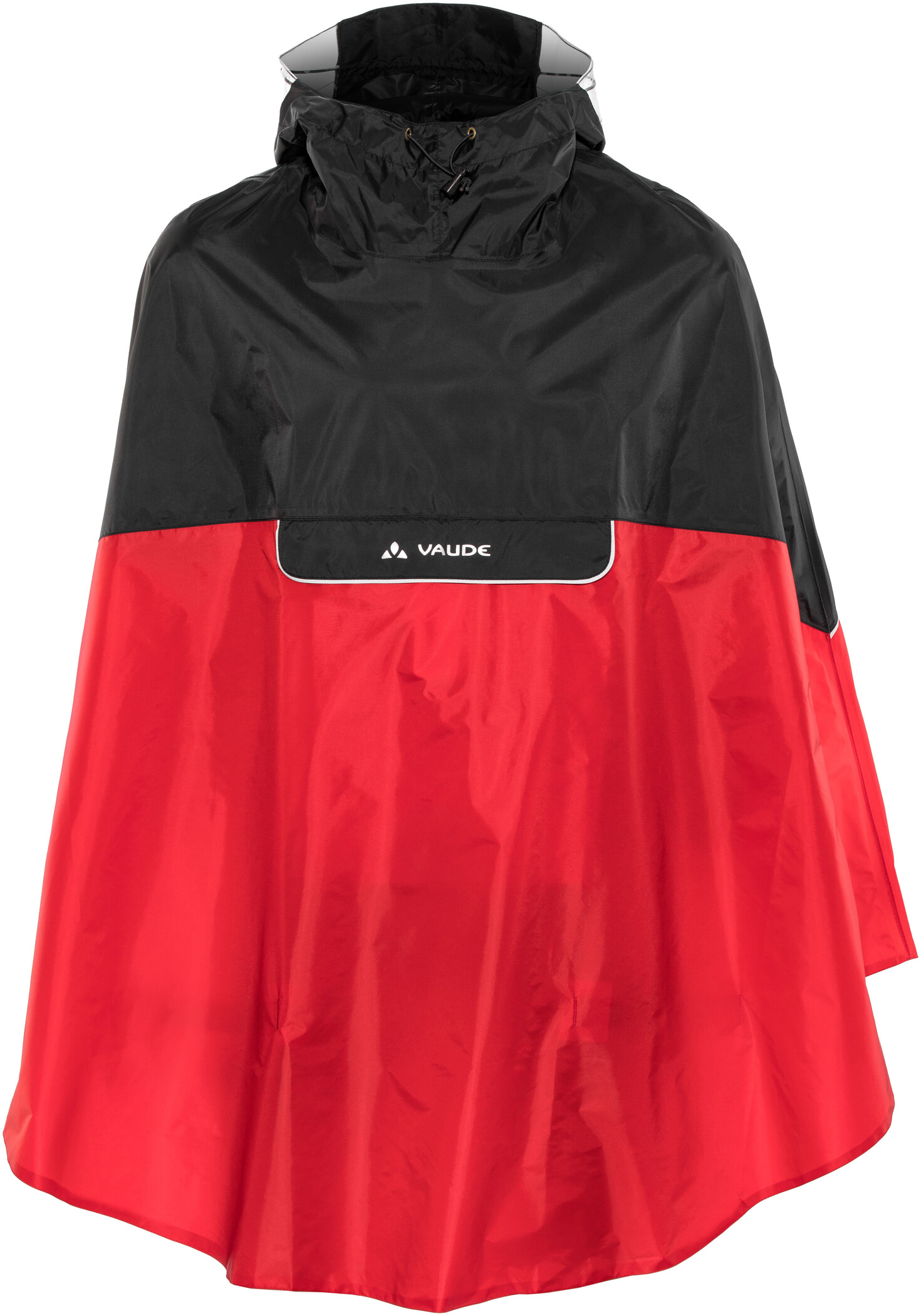 VAUDE Covero II Poncho, indian red (2019)   Jackets