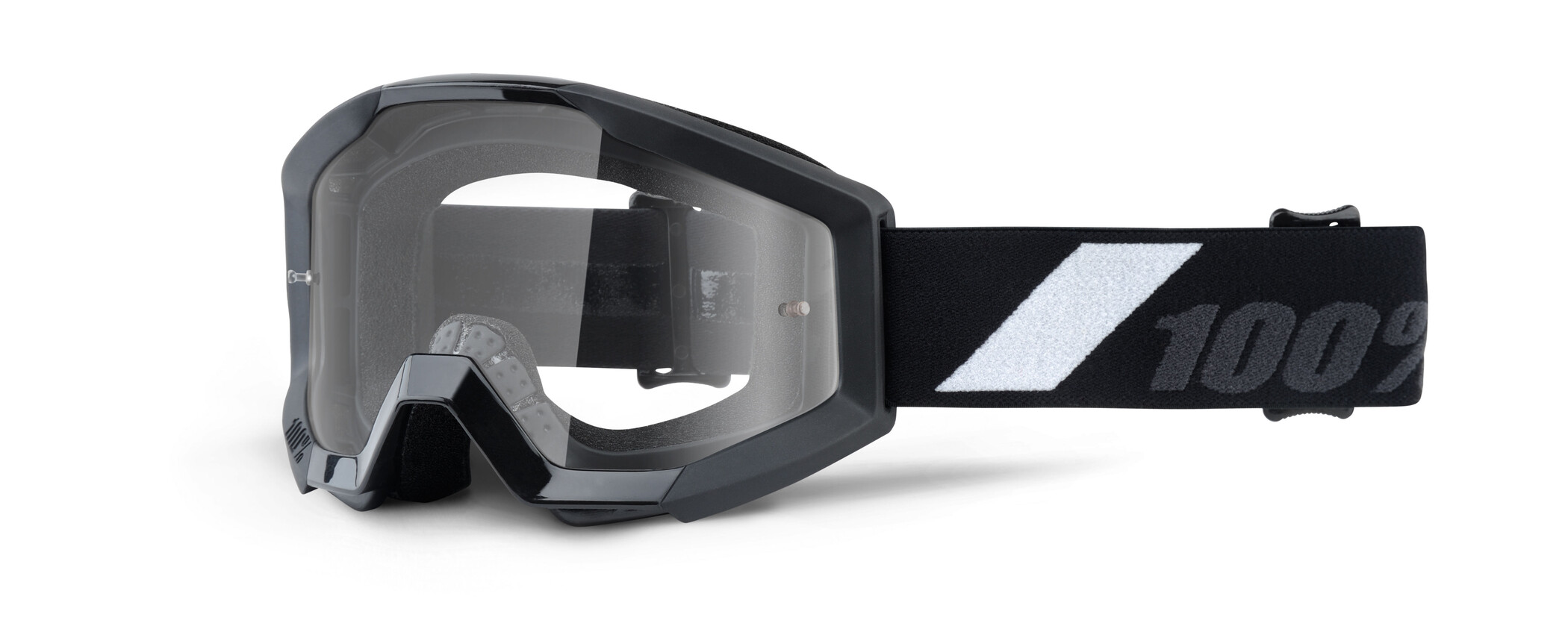 100% Strata Anti Fog Clear Goggles Børn, goliath (2019) | Glasses