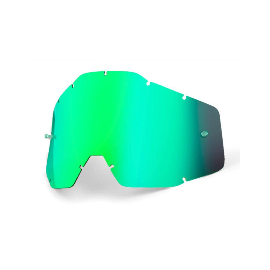 100% Replacement Linser, green / mirror | Briller > Tilbehør