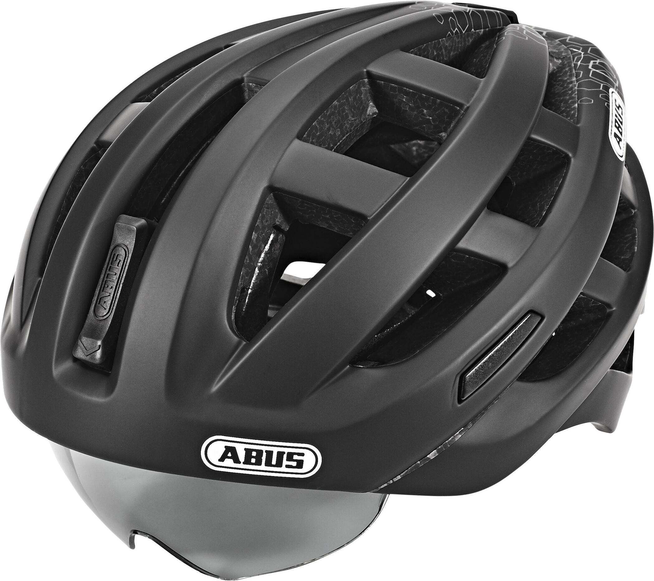 ABUS In-Vizz Ascent Cykelhjelm, polar matt (2019)   Hjelme