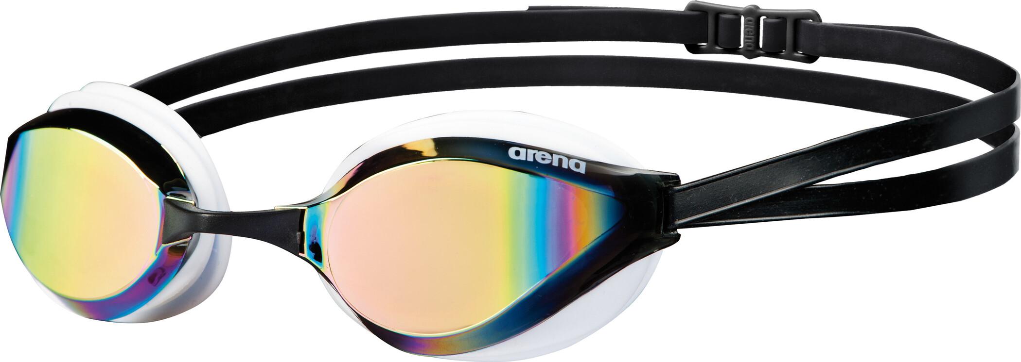 arena Python Mirror Svømmebriller, revo-white | Svømmetøj og udstyr