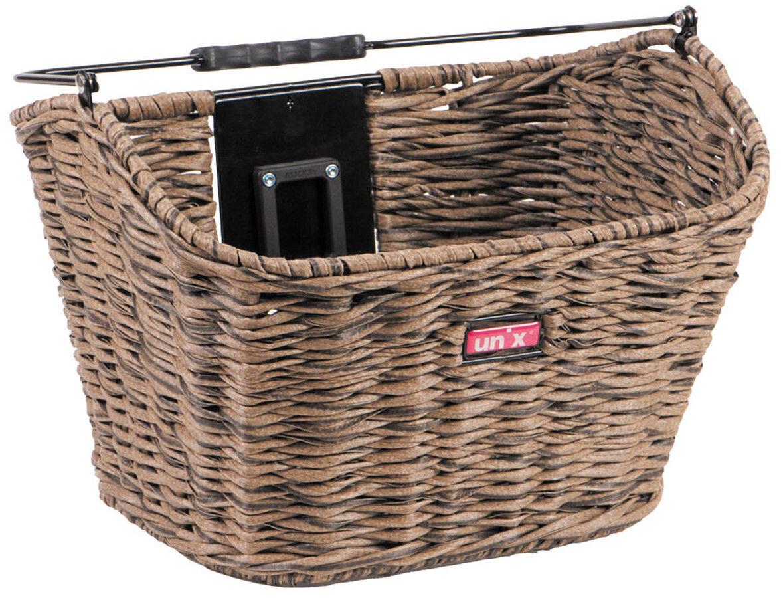 Unix Manolo Cykelkurv KlickFix, brown (2019) | Bike baskets