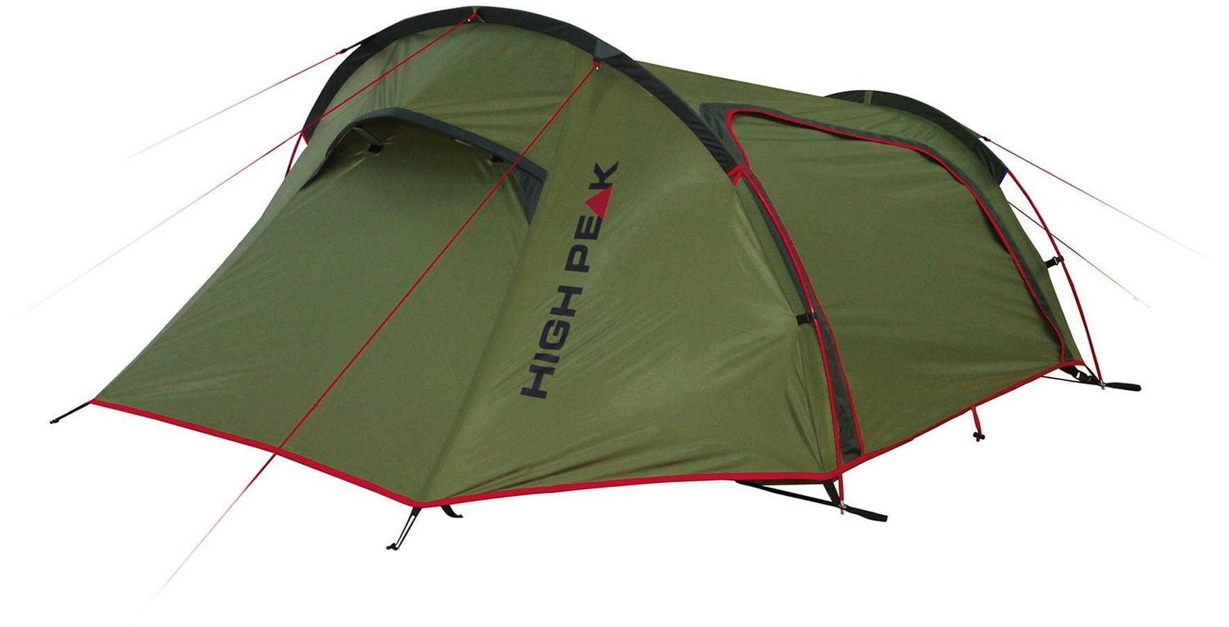 High Peak Sparrow 2 Telt, olive/red (2019)   Misc. Transportation and Storage