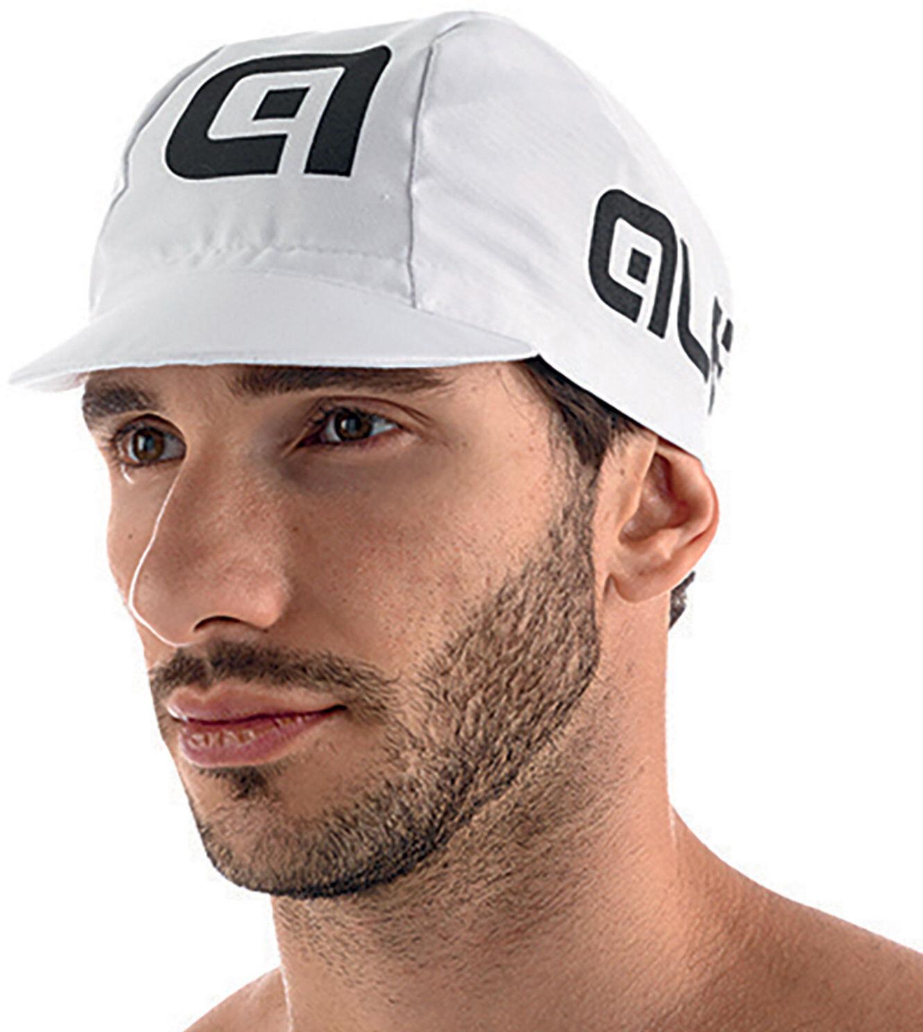 Alé Cycling Cap, white-black (2019) | Headwear