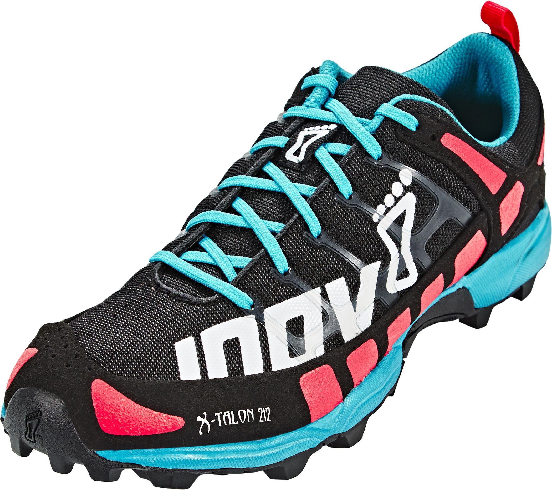 inov-8 X-Talon 212 Løbesko Damer, black/pink/teal   Running shoes