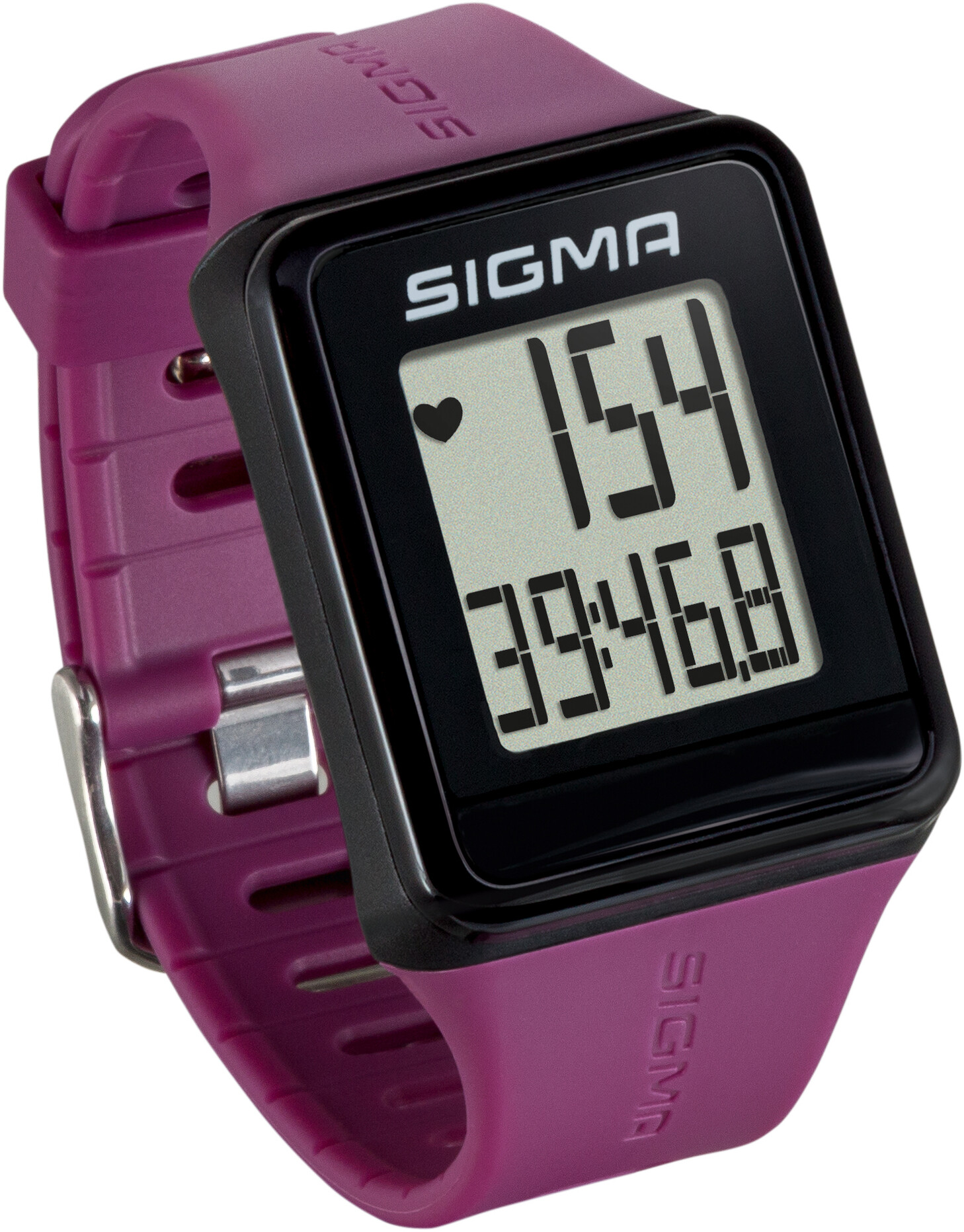 SIGMA SPORT ID.Go Pulsmåler, pflaume (2019) | Sports watches