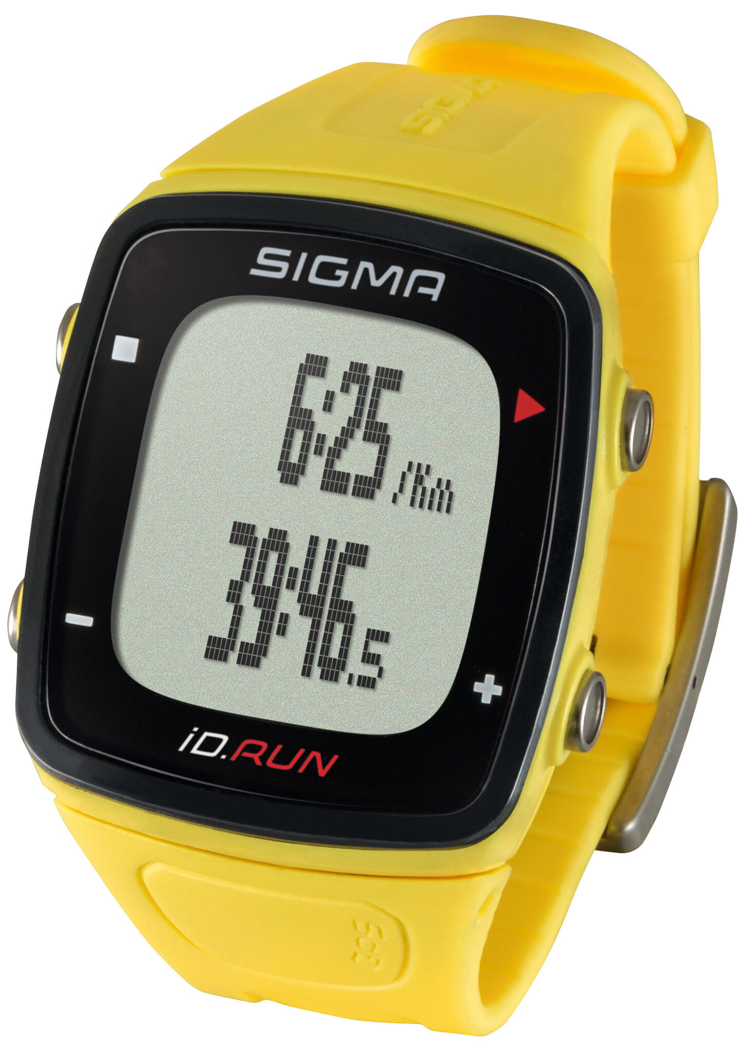 SIGMA SPORT ID.Run Sport Watch, yellow (2019) | Sports watches