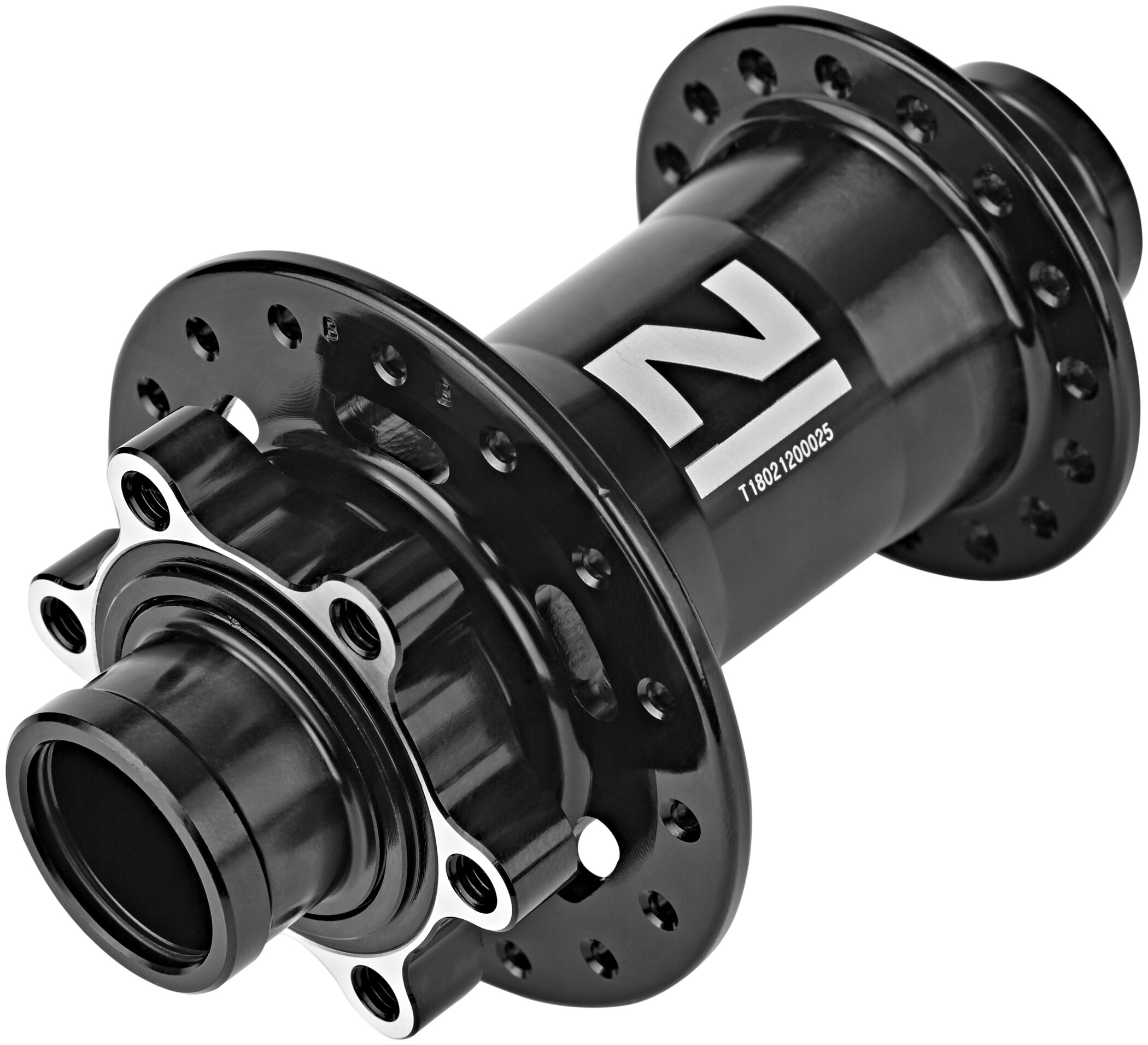 Novatec Downhill Nav 20 mm MTB Disc Stikakse, black (2019) | Hubs