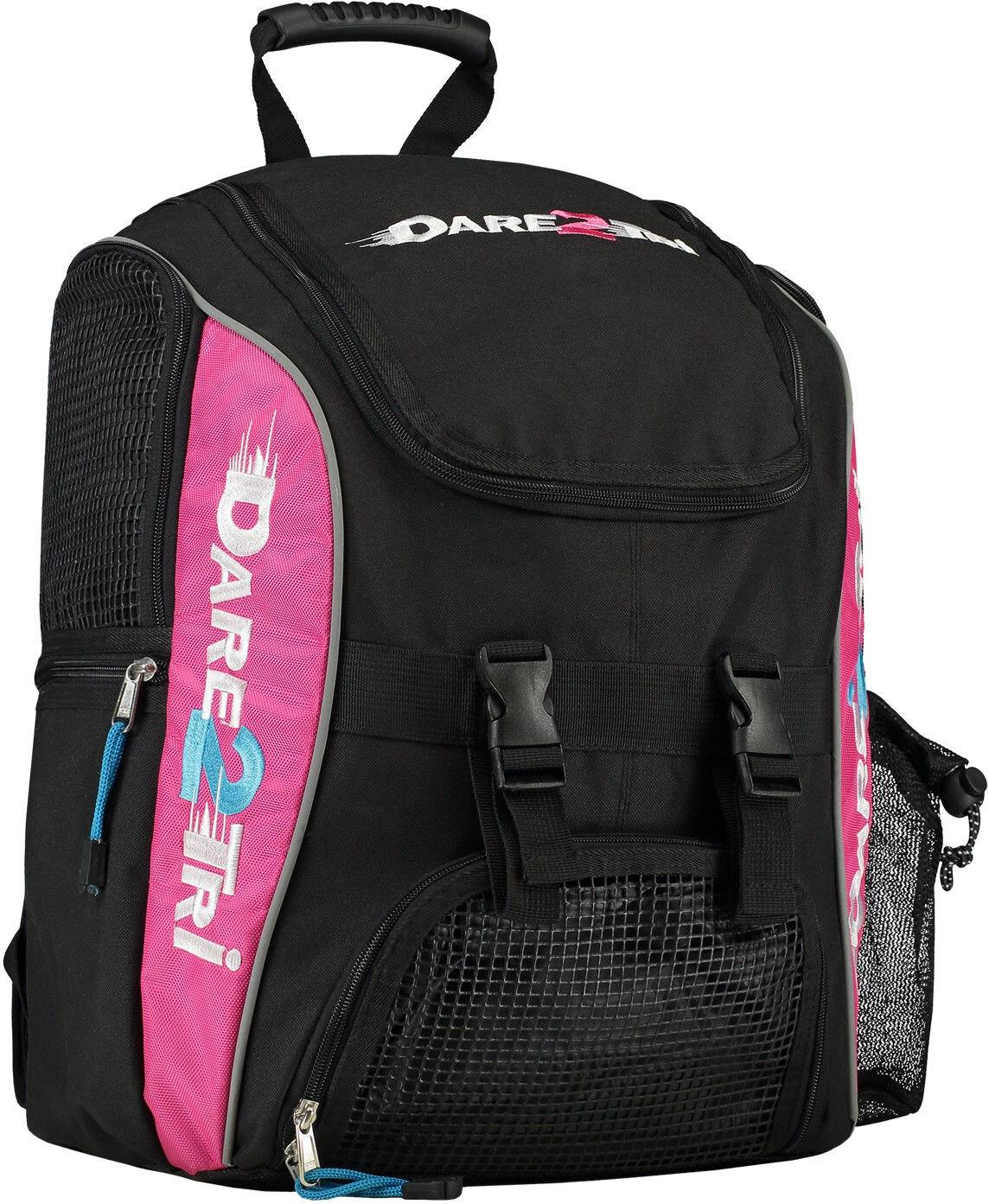 Dare2Tri Transition Svømmerygsæk 23L, black-pink (2019)   Travel bags