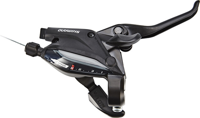 Shimano Gear-//Brake lever ST-EF505 3 Finger left black 3-speed