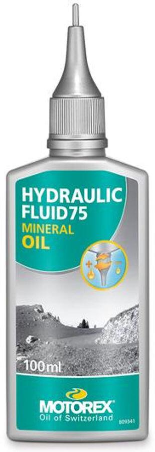 Motorex Hydraulic 75 Mineralolie 100 ml (2019)   Brake pads