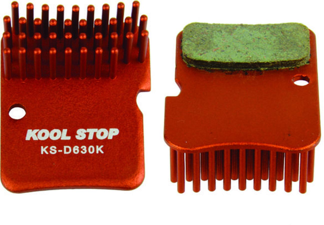 Kool Stop Disc Aero Bremsebelægninger Shimano XTR BR-M965/966/975, Deore, Alfine | Bremseskiver og -klodser