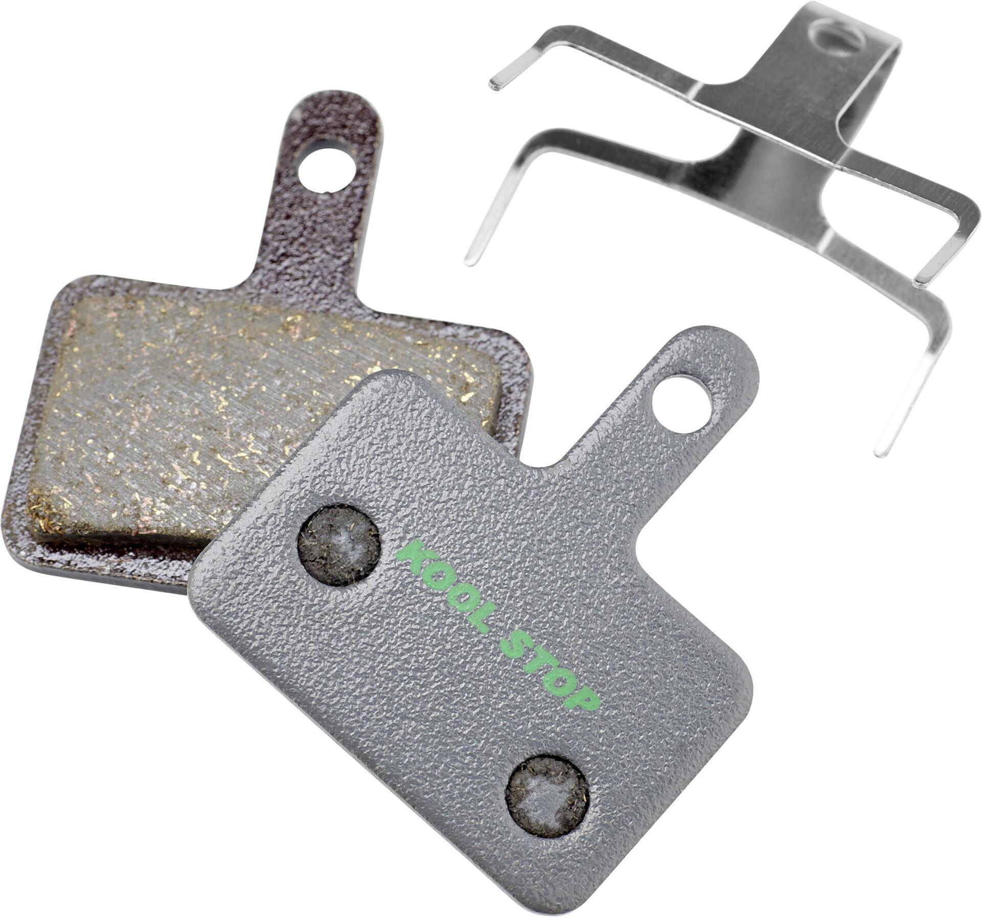 Pair disc brake pads j04c ice tec metal aero system SHIMANO bike brake
