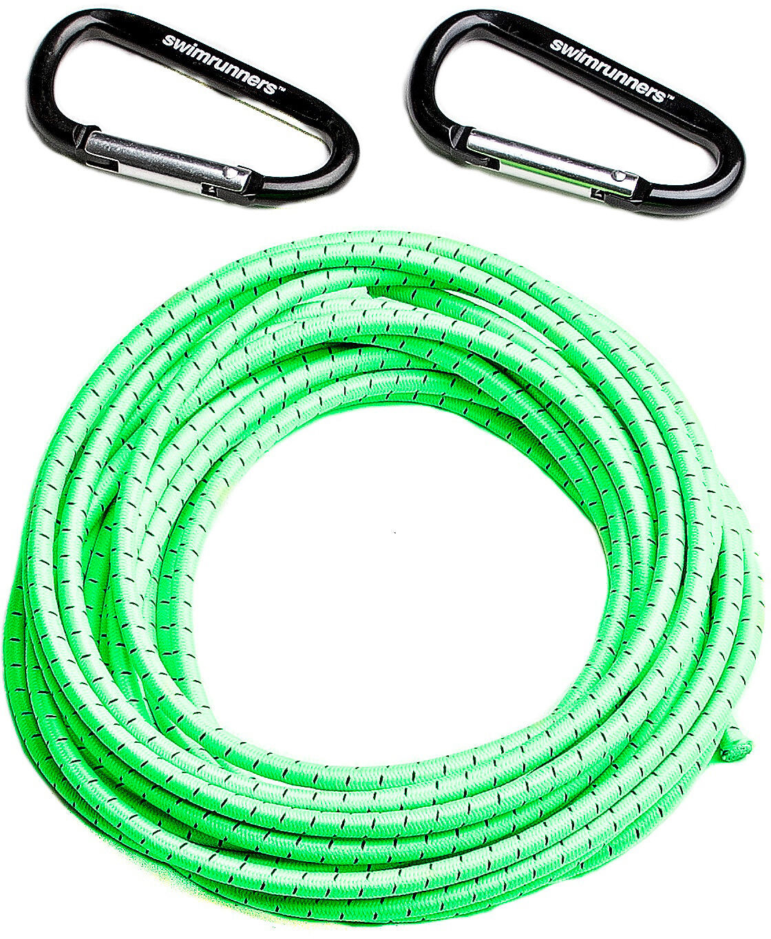 Swimrunners Support Pull Belt Cord DIY 5m, neon green (2019) | misc_clothes