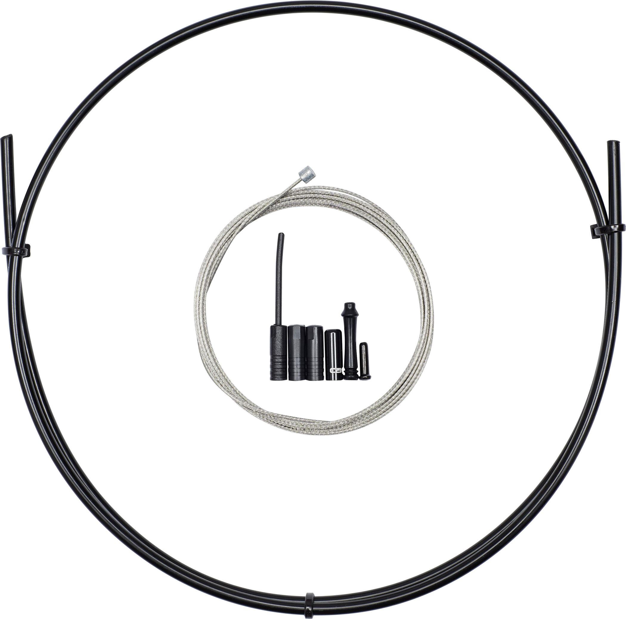 capgo BL Gearkabelsæt til Shimano/SRAM Front & ATB/Road, black (2020)   Gearkabler og wire
