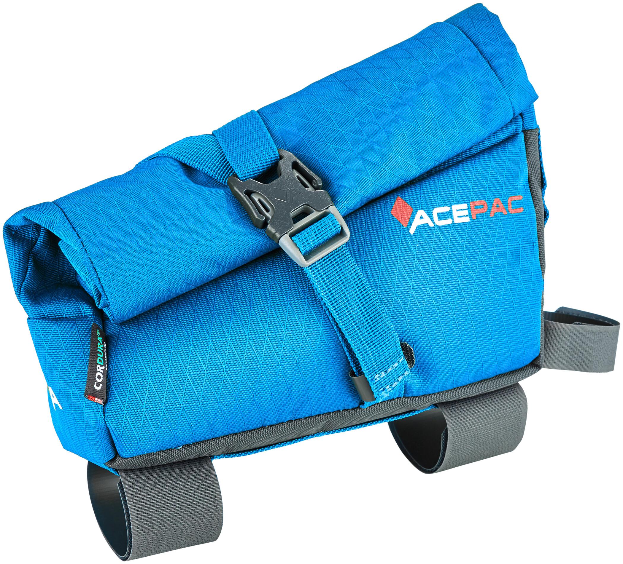 Acepac Roll Fuel Frame Bag, blue (2019)   Frame bags