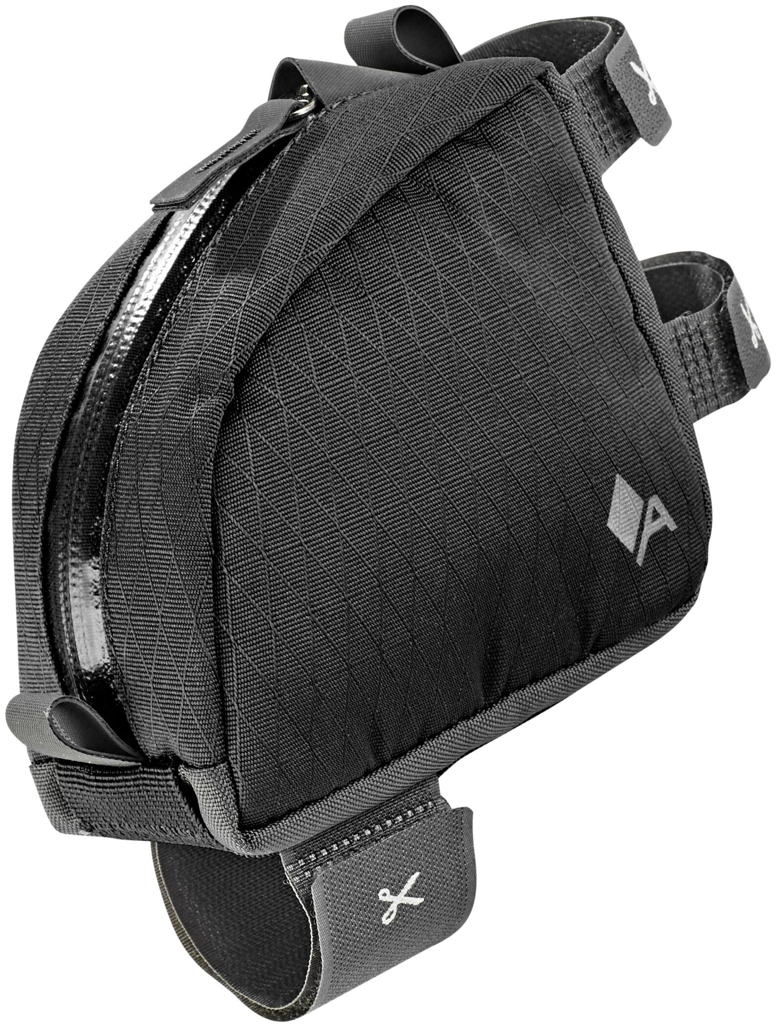 Acepac Tube Bag, black   Saddle bags
