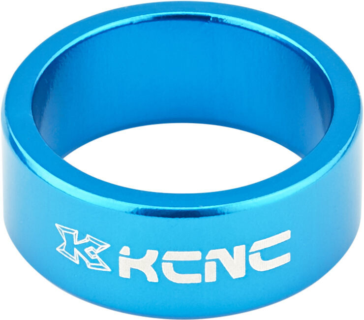 "KCNC Headset Spacer 1 1/8"" 14mm, blue 
