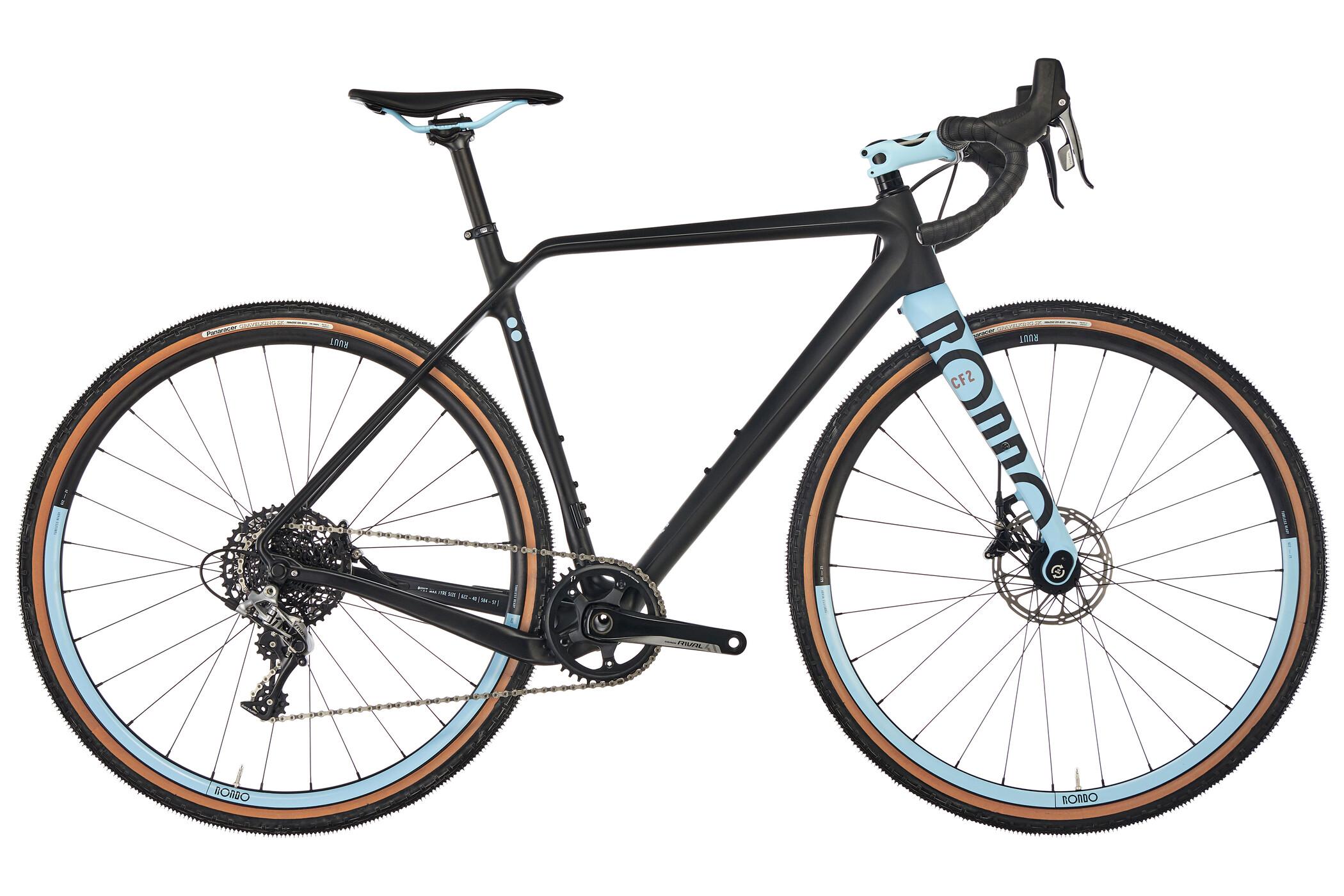 RONDO Ruut CF2 Gravel Plus Cyclocross sort (2019)   Cross