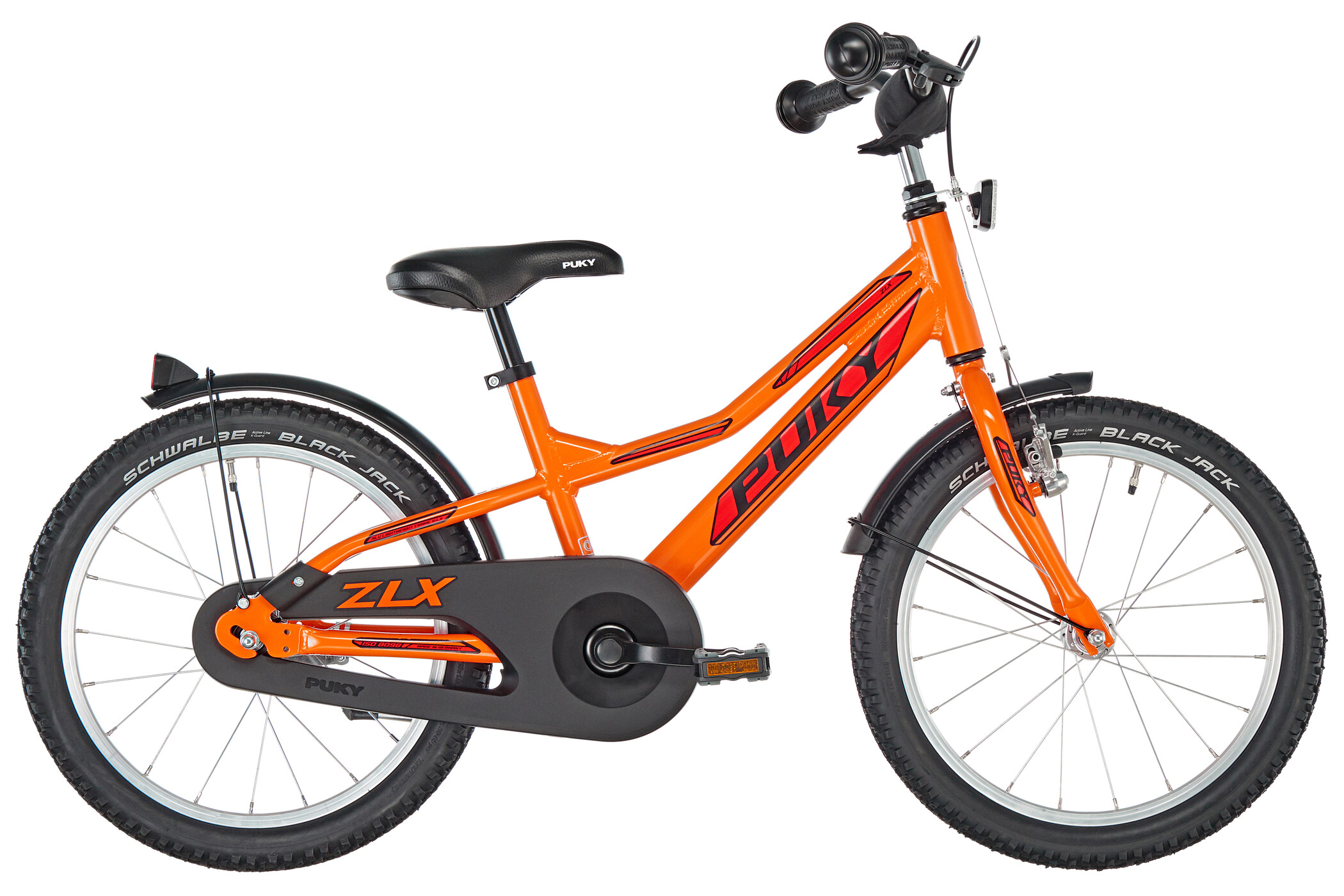 Puky ZLX 18-1 aluminium Drenge, racing orange (2020) | City-cykler