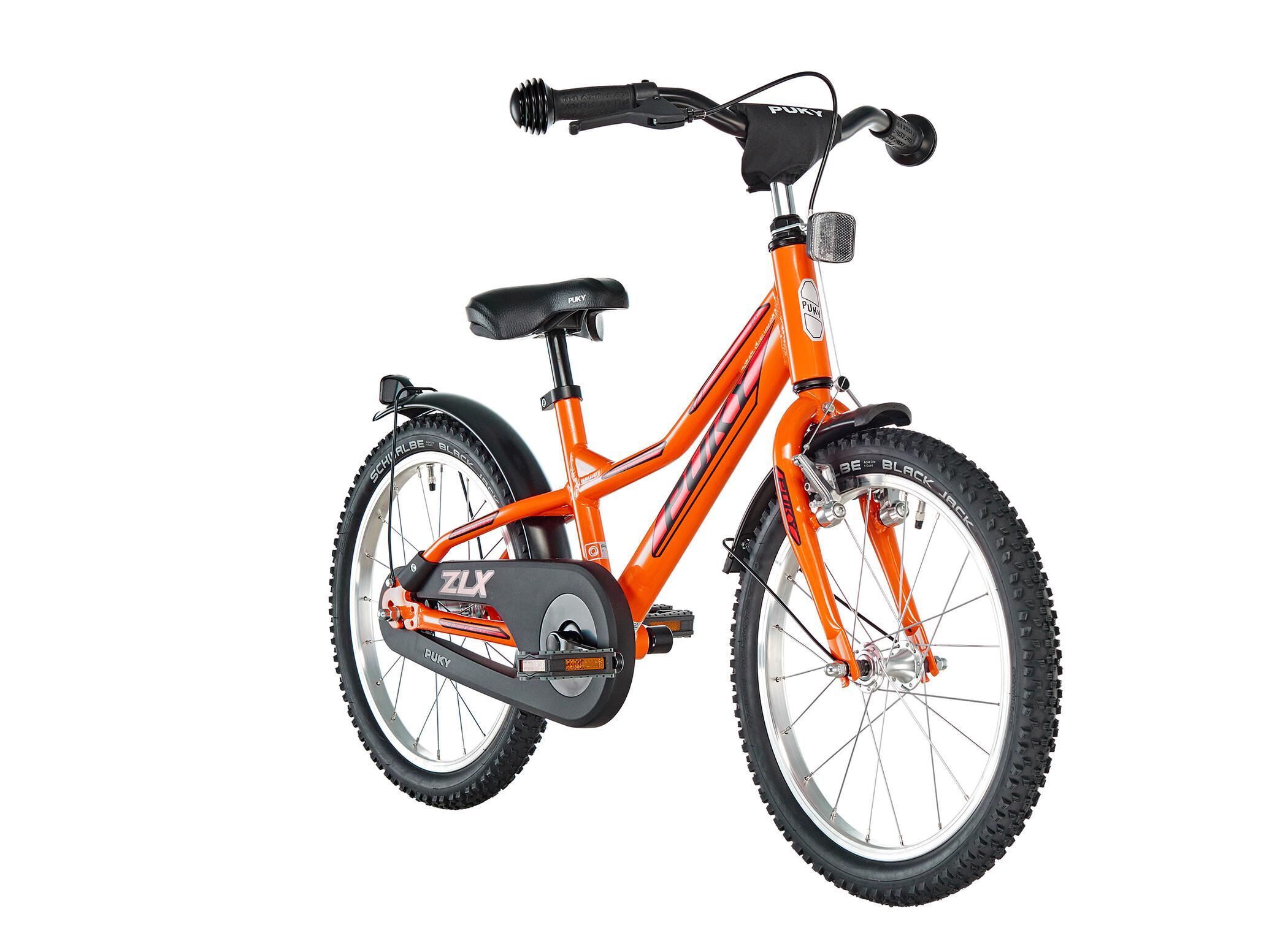 Puky ZLX 18-1 aluminium Drenge, racing orange (2020) | City