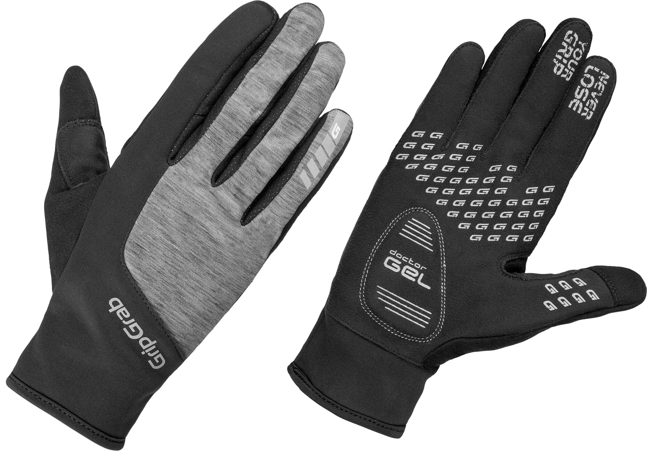 GripGrab Hurricane Handsker Damer, black/grey (2019) | Gloves