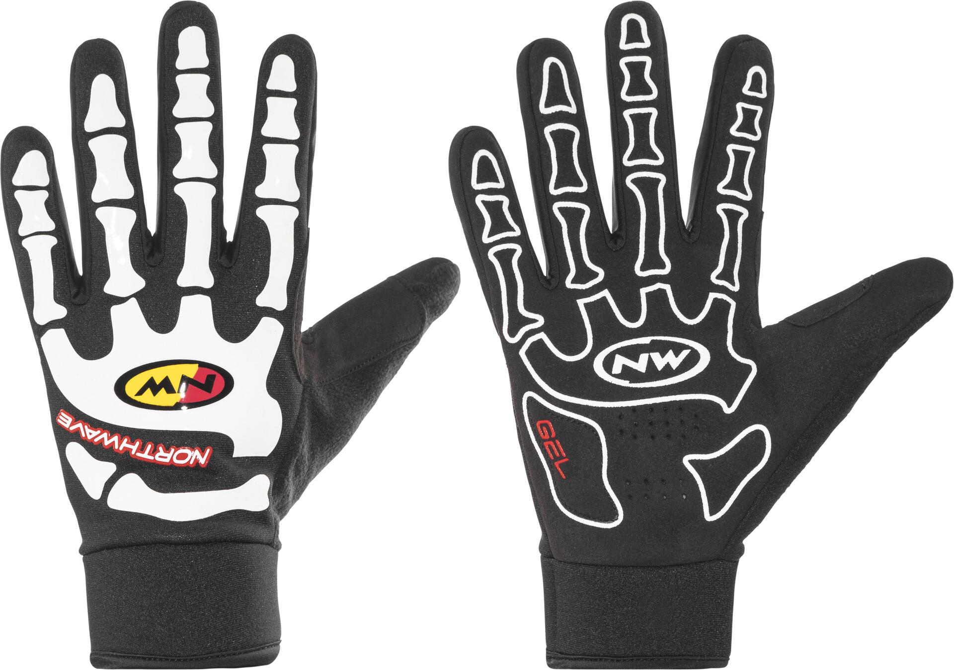 Northwave Skeleton Gloves Black M