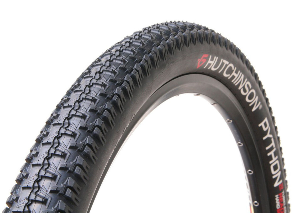 "Hutchinson Python 2 Foldedæk 29"" TL Ready Hardskin, black   Tyres"