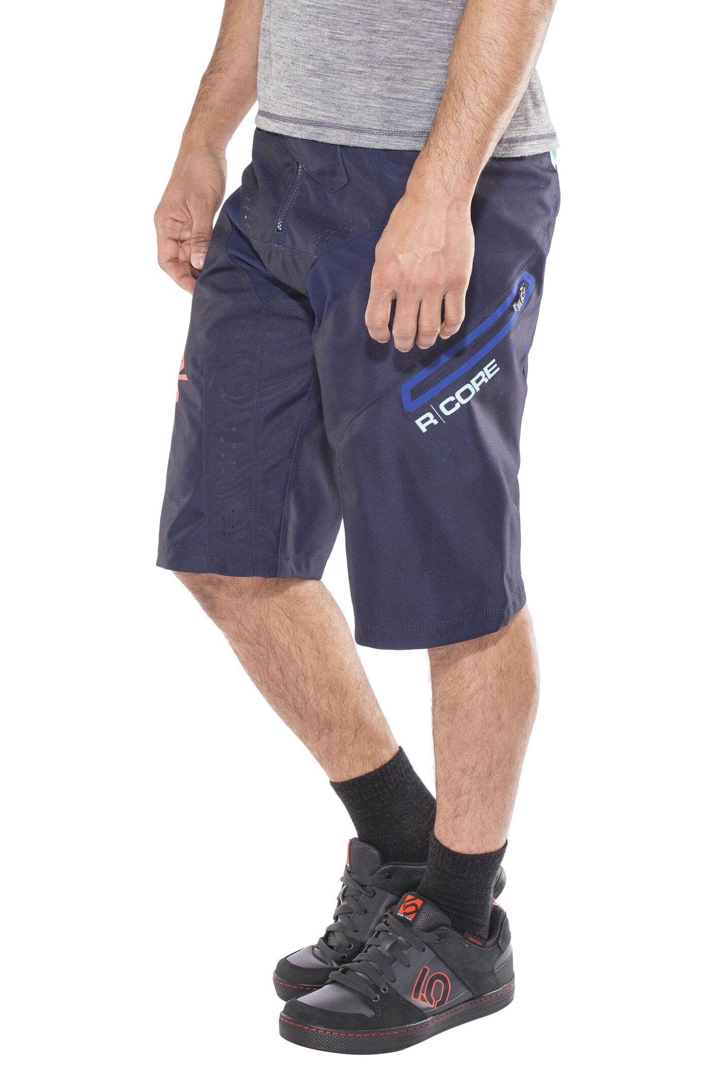 100% R-Core DH Cykelbukser Herrer, navy | Trousers