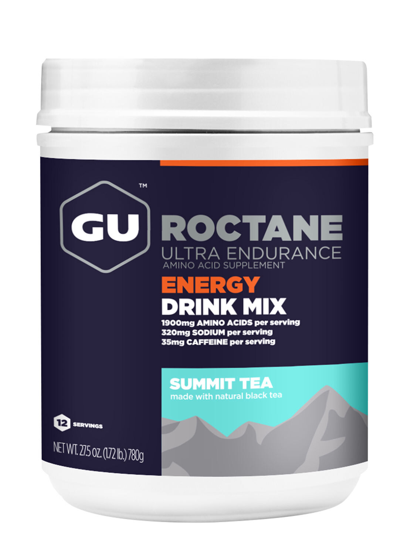 GU Energy Roctane Ultra Endurance Energy Drink Mix 780g, Summit Tea | Energidrik og pulver