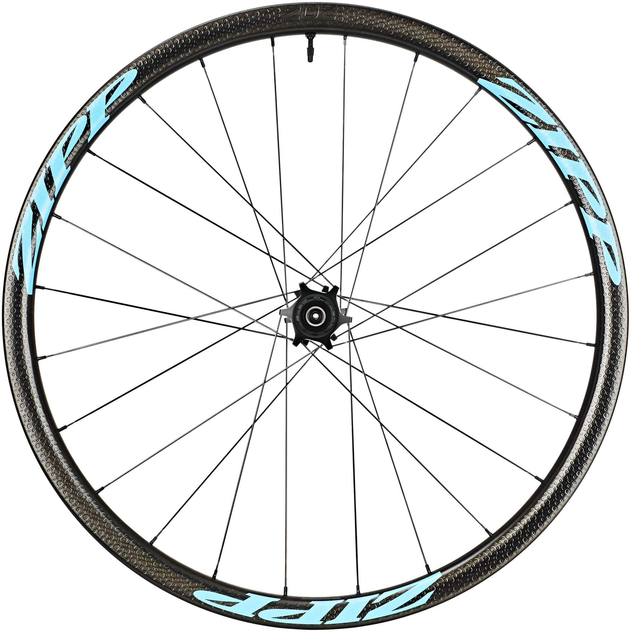Zipp 202 Firecrest Tubeless Disc baghjul SRAM/Shimano, blue | Baghjul