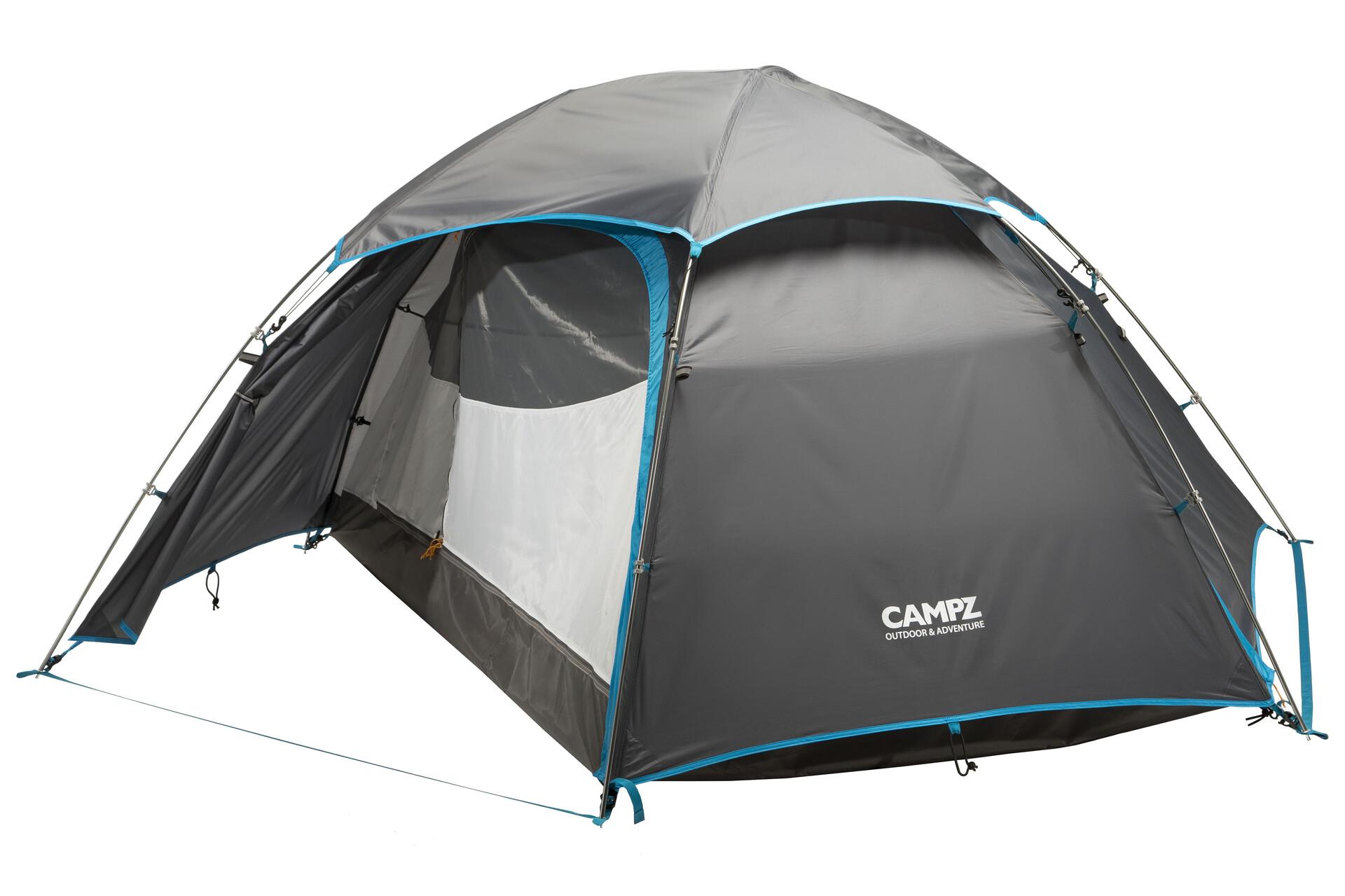 CAMPZ Vira 2P Zelt gr/ün//Olive 2019 Camping-Zelt