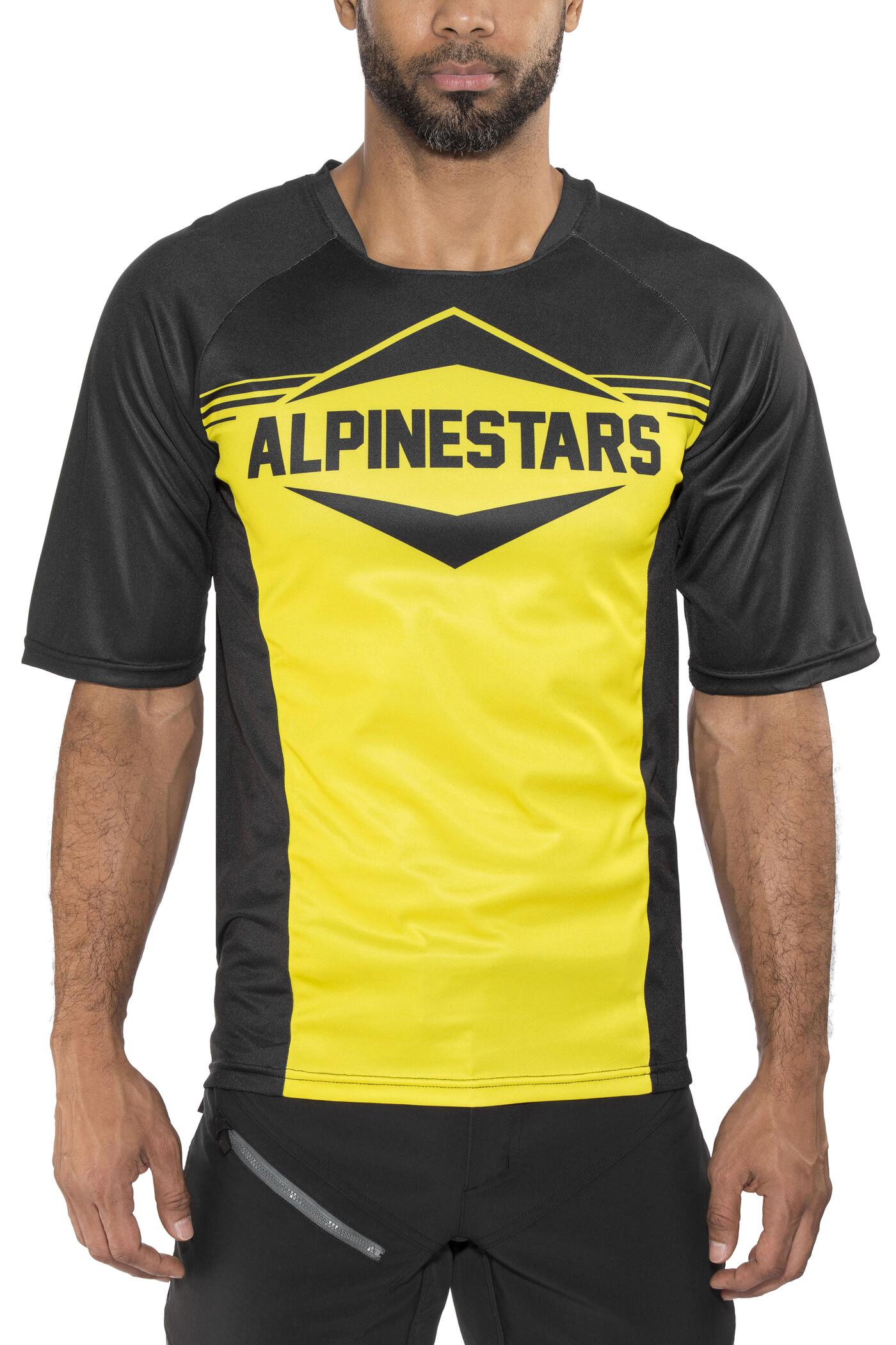 Alpinestars Mesa Jersey - Black Orange Blue   Jerseys