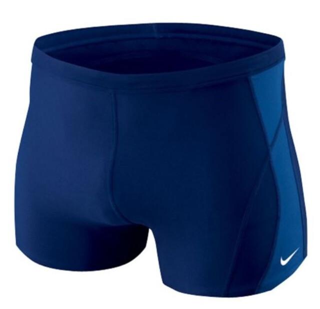 Nike Swim Poly Core Solid Jammer Men midnight navy 2019 Badehose blau Herren-Schwimmsport-Produkte Weitere Wassersportarten