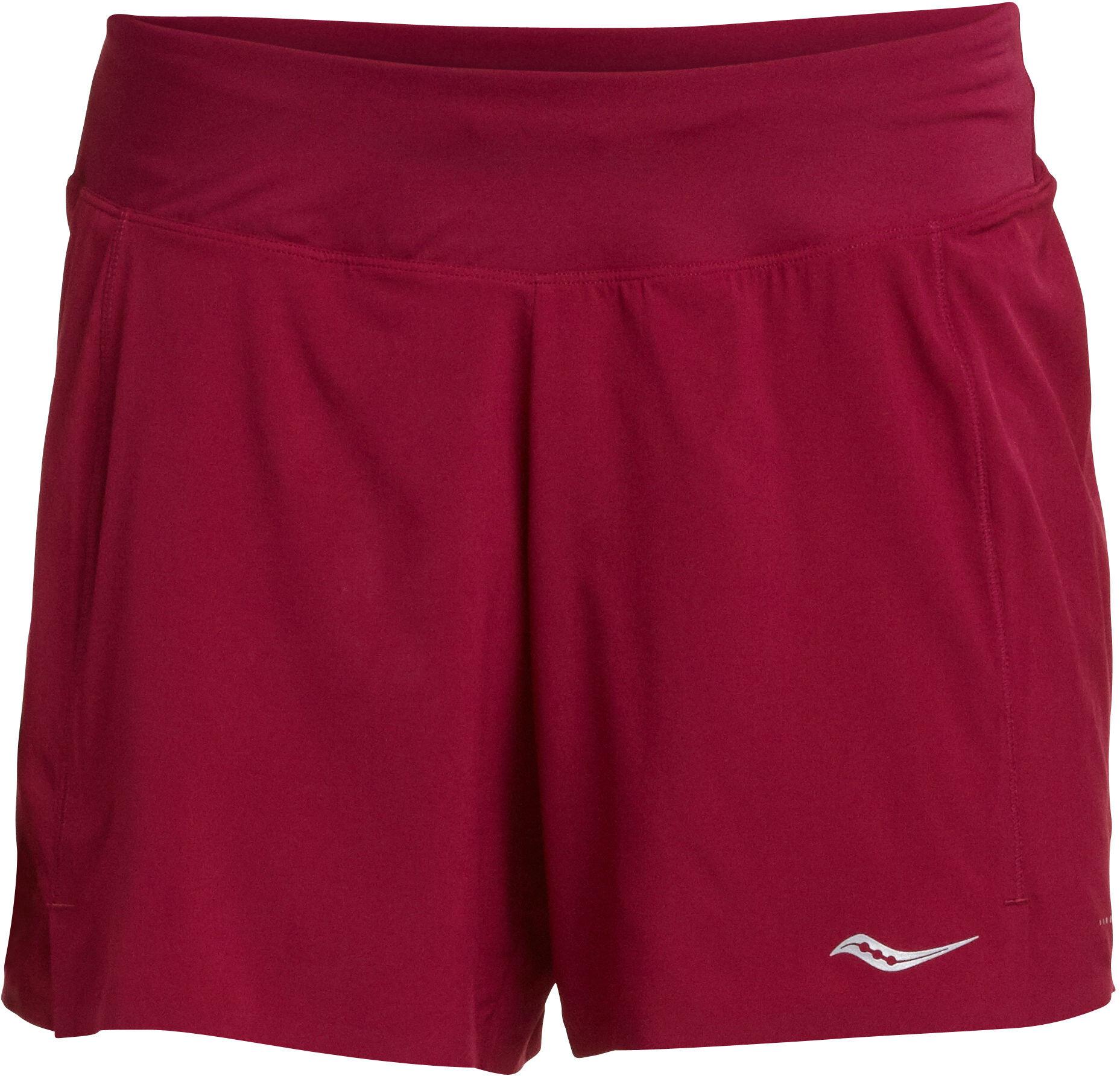 "saucony Tranquil 5"" Shorts Damer, beet red | Bukser"