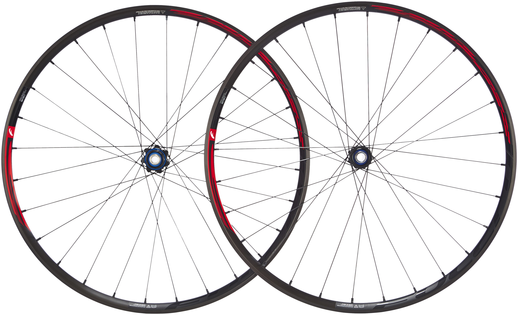 """Fulcrum Red Fire 5 Wheelset MTB 27,5"""" TL Ready Shimano CL, black/red 