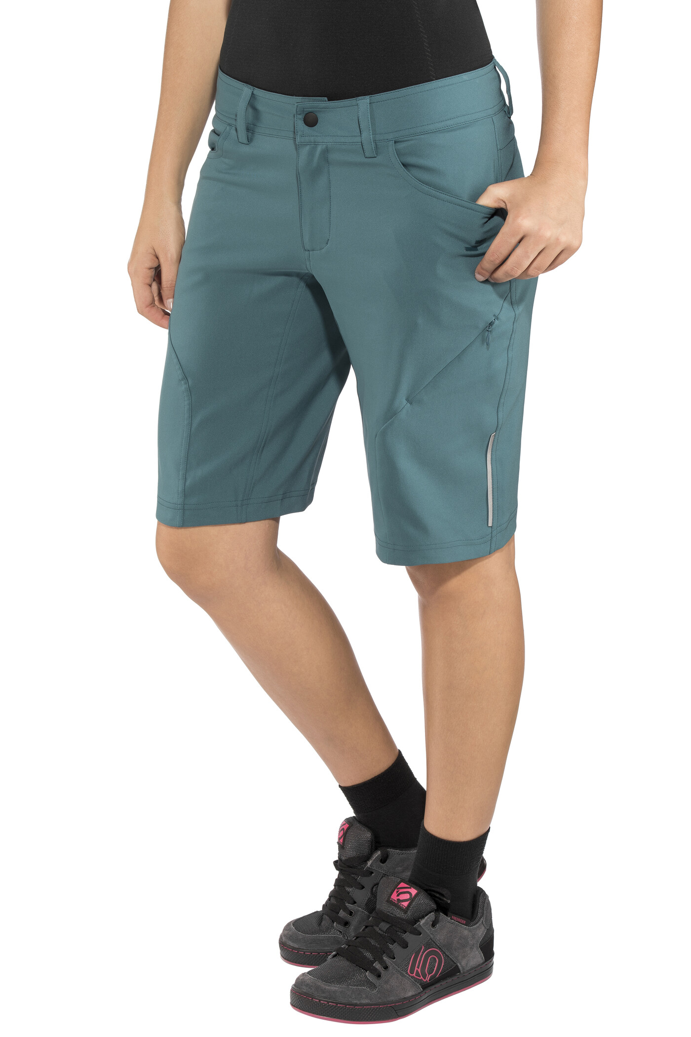 SQUARE Active Cykelbukser Damer, petrol (2020) | Trousers